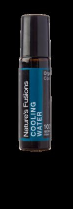 COOLING WATER ROLL ON WITH ORGANIC COCONUT OIL - ANTI-INFLAMMATORY BLEND 10ML